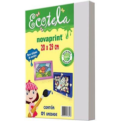 Tela para pintura em papel 20x29cm Ecotela Moopel PT 1 UN