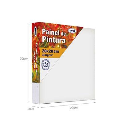 Painel para pintura painel 20x20 PMD2020 Oval PT 1 UN