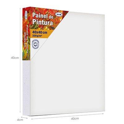 Painel para pintura 40x40 PMD4040 Oval PT 1 UN