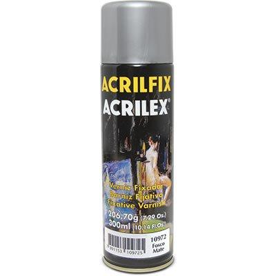 Spray  acrilfix fosco (verniz) 10972 Acrilex LT 1 UN