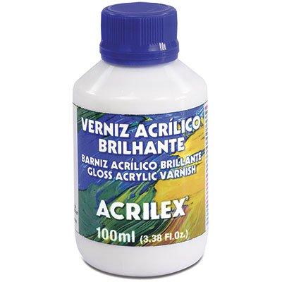 Verniz acrilico brilhante 100ml 15010 Acrilex PT 1 UN