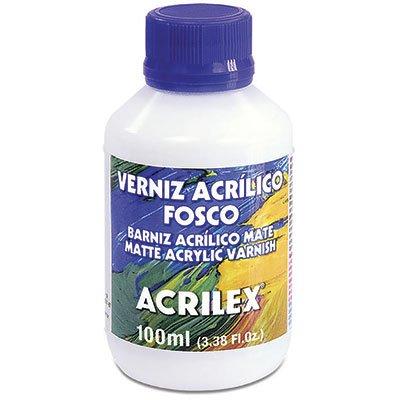 Verniz acrilico fosco 100ml 16910 Acrilex PT 1 UN