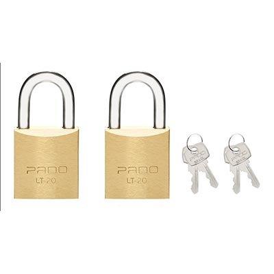 Cadeado lt-20mm c/ 4 chaves Pado BT 1 UN
