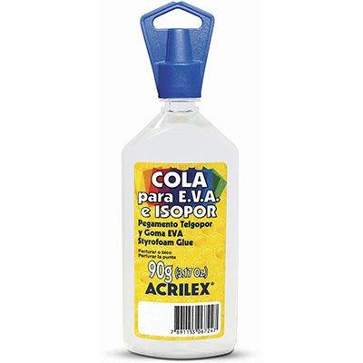 Cola para isopor /EVA 90g 17390 Acrilex PT 1 UN