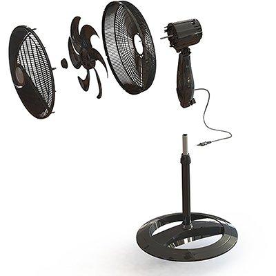 Ventilador de coluna oscilante 40cm 127v Maxi NV61-6P NP Mondial CX 1 UN