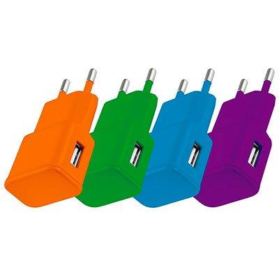 Carregador de tomada c/2 saída USB SmatoGo CB095 Multilaser BT 1 UN