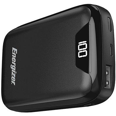 Carregador portátil usb p/ Smartphone 10000mAh preto UE10042 Energizer CX 1 UN