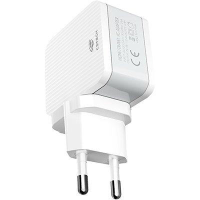 Carregador de tomada AC/USB Universal 2,4A UC-215 Coletek CX 1 UN