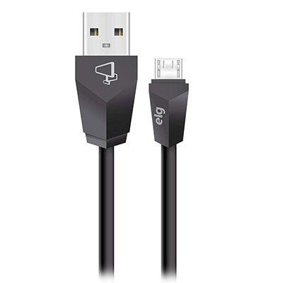 Cabo de sincronia/recarga micro USB 1,8m M518 Elg BT 1 UN