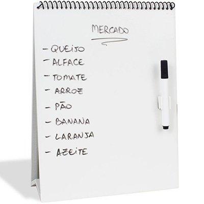 Painel metálico 21x27 porta-recados folheto MDBR01 Geguton PT 1 UN