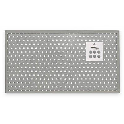 Painel metálico 40x73 básico prata Geguton PT 1 UN