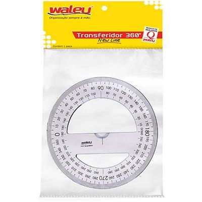 Transferidor plástico 360g cristal New Line Waleu PT 1 UN