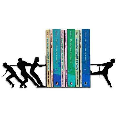 Suporte p/livros cabo de guerra preto Geguton PT 1 UN