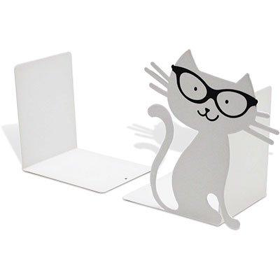 Suporte p/livros Gato branco Geguton PT 1 UN