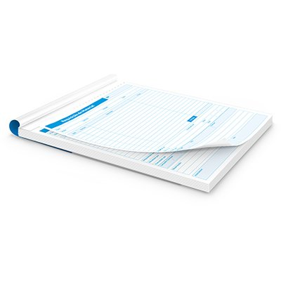 Requisiçao de material 100 folhas 209x148mm 361 Spiral PT 1 UN