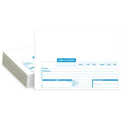 Cópia de cheque 100 folhas 148x209mm 221 Spiral PT 5 UN