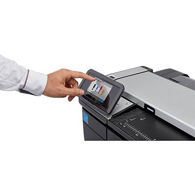 "Impressora plotter 36"" Designjet T830 F9A30A HP CX 1 UN"