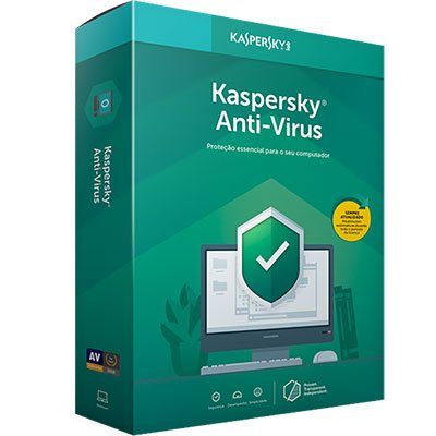 Kaspersky Antivírus para 1 dispositivo 12 meses PT 1 UN