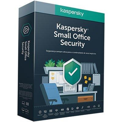 Kaspersky Antivírus Small Office para 5 dispositivos Assinatura Anual PT 1 UN