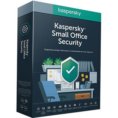 Kaspersky Antivírus Small Office para 10 dispositivos Assinatura Anual PT 1 UN