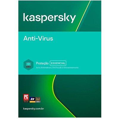 Kaspersky Antivírus 1 dispositivo, Licença 12 meses, Digital para Download - UN 1 UN