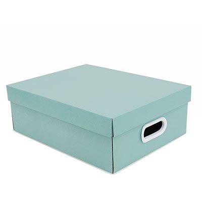 Caixa organizadora Stok verde 37x29x13 Boxgraphia CX 1 UN