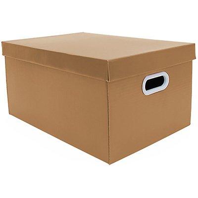 Caixa organizadora pratika kraft 45,5x31,5x23 Boxgraphia PT 1 UN