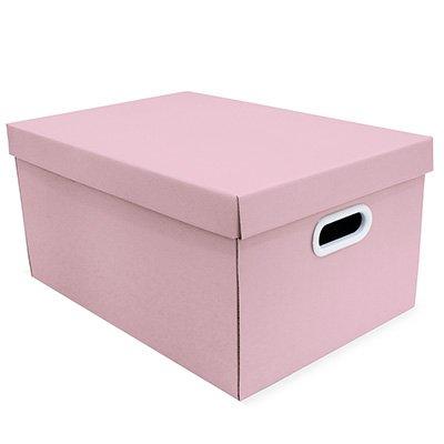 Caixa organizadora pratika rosa 45,5x31,5x23 Boxgraphia CX 1 UN