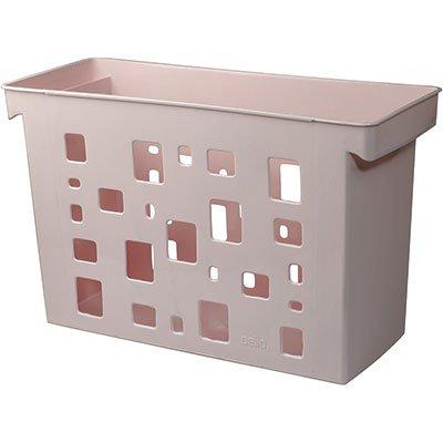Arquivo estreito rosa p/pastas suspensas Dello PT 1 UN