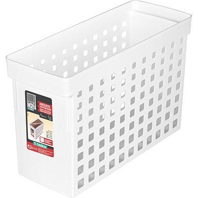Arquivo estreito branco p/pastas suspensas 70010 Ordene PT 1 UN