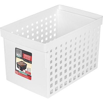Arquivo médio branco p/pastas suspensas 70110 Ordene PT 1 UN