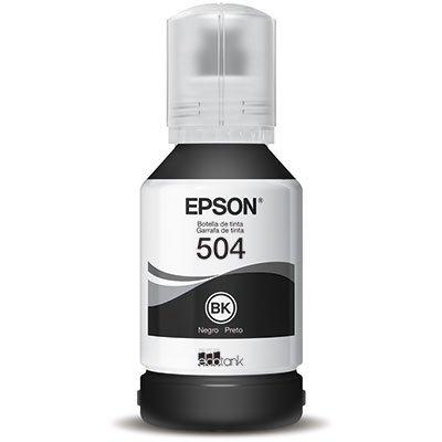 Garrafa para Ecotank preto T504120AL Epson CX 1 UN