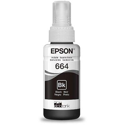 Garrafa para Ecotank preto T664 - T664120AL - Epson PT 1 UN