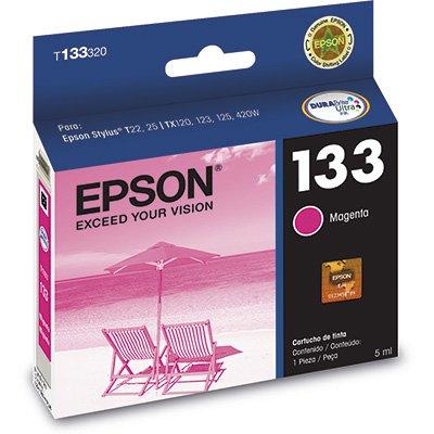 Cartucho p/stylus magenta T133320BR Epson CX 1 UN