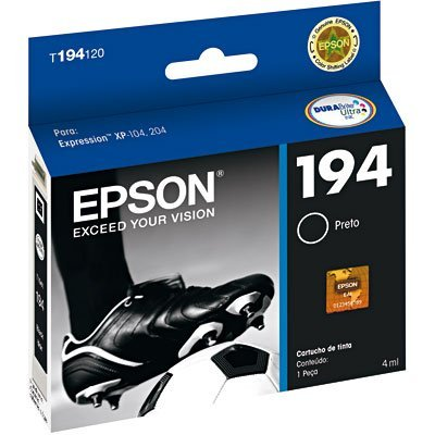 Cartucho p/stylus preto T194120BR Epson CX 1 UN
