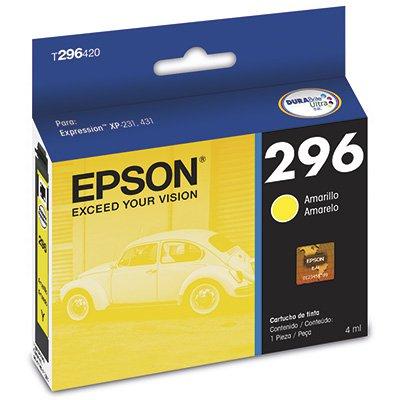 Cartucho p/Expression amarelo T296420BR Epson CX 1 UN