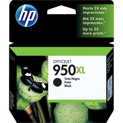 Cartucho HP 950XL preto Original (CN045AB) Para HP Officejet Pro 8600, 8600 Plus, 8610, 8620, 276dw, 8100, 251dw CX 1 UN