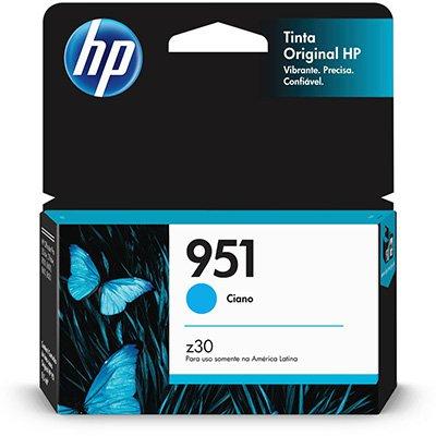 Cartucho HP 951 Cian Original (CN050AB) Para HP Officejet Pro 8600, 8600 Plus, 8610, 8620, 276dw, 8100, 251dw CX 1 UN