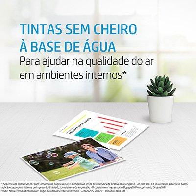 Garrafa HP GT52 Ciano original (M0H54AL) Para HP Deskjet 5822 CX 1 UN