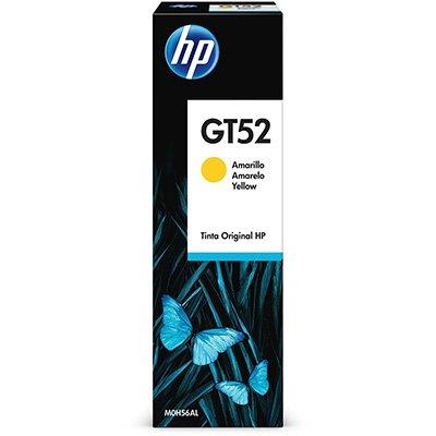 Garrafa HP GT52 Amarela original (M0H56AL) Para HP Deskjet 5822 CX 1 UN