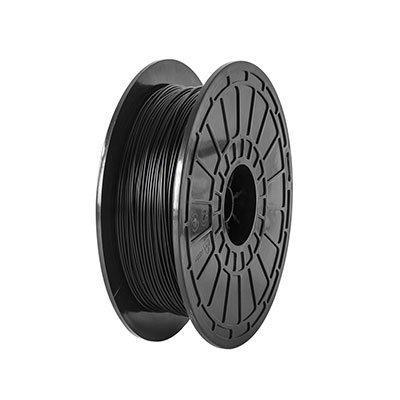 Filamento PLA p/ impressora 3D 500g preto Flashforge UN 1 UN