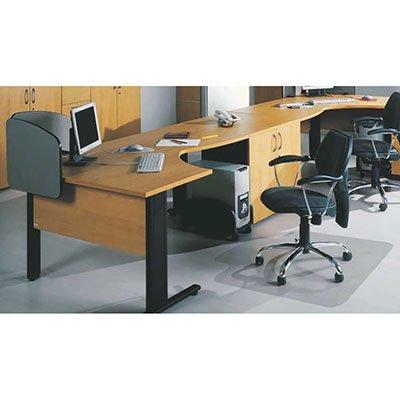 Protetor de piso, Protepiso transparente e flexível, 85 x 1,2cm - 212501 Kapazi PT 1 UN