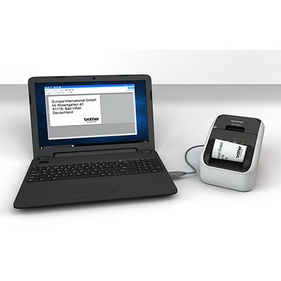 Impressora térmica p/etiquetas QL800 Brother CX 1 UN