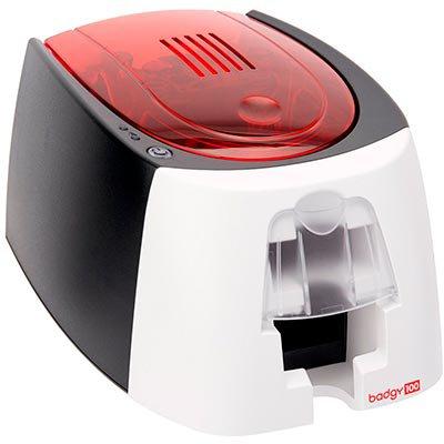 Impressora de cartão PVC Badgy 100 Card Printers (kit de impressão incluso - Software, Ribbon e Cartões) - Cheveste Technology CX 1 UN