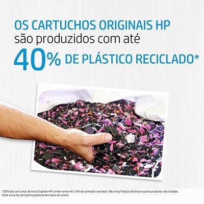 Cartucho HP 122 colorido CH562HB + Cartucho 122 preto CH561HB HP CX 1 UN