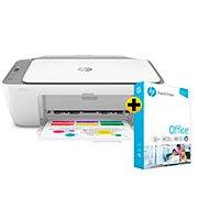 Impressora Multifuncional Deskjet Ink Advantage 2776 7FR20A HP + Papel sulfite HP Office A4 Ipaper com 500 folhas CX 1 UN