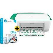 Impressora Multifuncional  Deskjet Ink Advantage 2376 7WQ02A HP + Papel sulfite HP Office A4 Ipaper com 500 folhas CX 1 UN