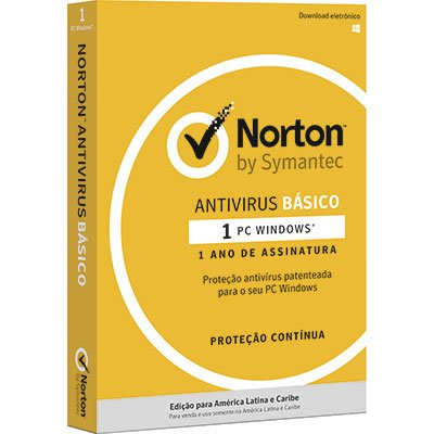 Norton Antivírus B1 para 1 dispositivo 12 meses Symantec CX 1 UN