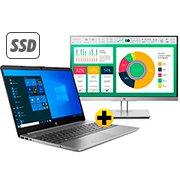 Notebook 256-G8 i5 8gb 256gb SSD 15W10 3G5A7LA HP + Monitor LED 21,5 widescreen EliteDisplay E223 1FH45AA HP CX 1 UN