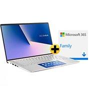 Notebook Asus Zenbook 14, Intel Core i7 10a Geração, 8GB, 256GB SSD, 14, UX434FAC-A6339T + Microsoft 365 Family: 1 licença até 6 usuários (Word, Excel, PowerPoint, Outlook e 1TB OneDrive  CX 1 UN